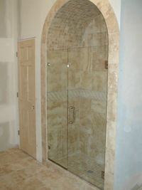 I really like the idea of having a shower enclosure. However, what will look good in my house. There are just so many options. Does anyone know if you can get a shower door personalized? That would be pretty cool.