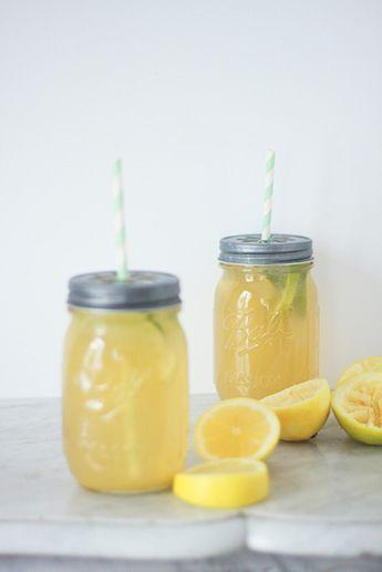 Recette de la citronnade, façon limonade américaine, avec des citrons bio. Boisson pour s'hydrater, en été, quand il faut chaud, Blog lifestyle cuisine mode