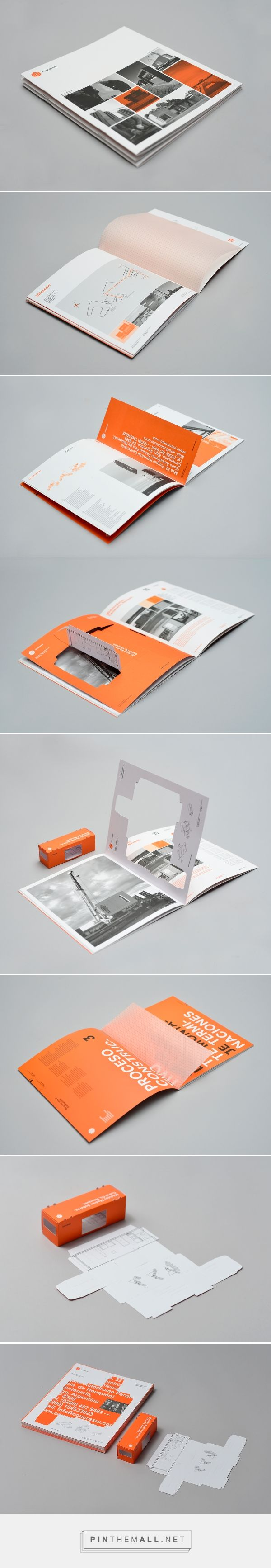 CONCRESUR Corporate Brochure by Hachetresele Studio