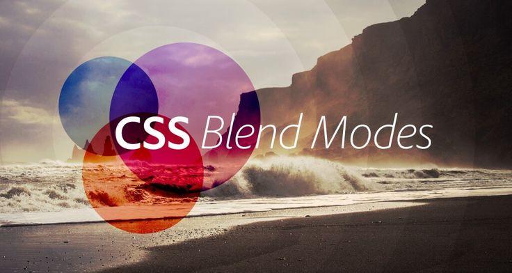 Modifying photos in CSS: Blend Modes