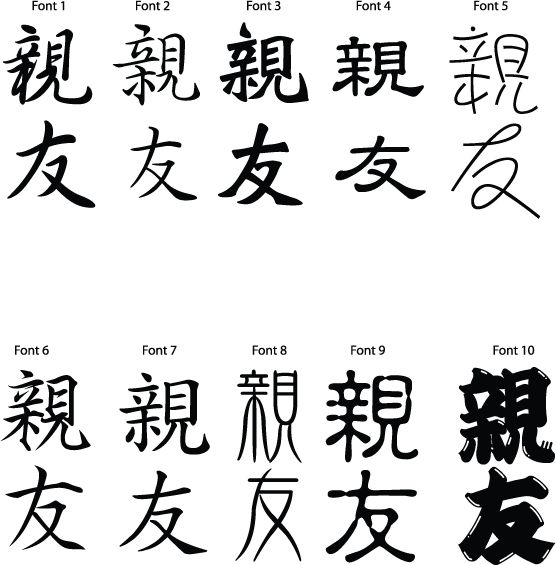 19 best chinese friendship tattoo images on pinterest