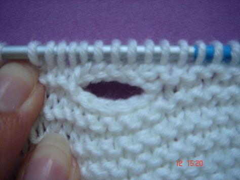 How to knit buttonholes...this tutorial is in French, but there are good pictures.