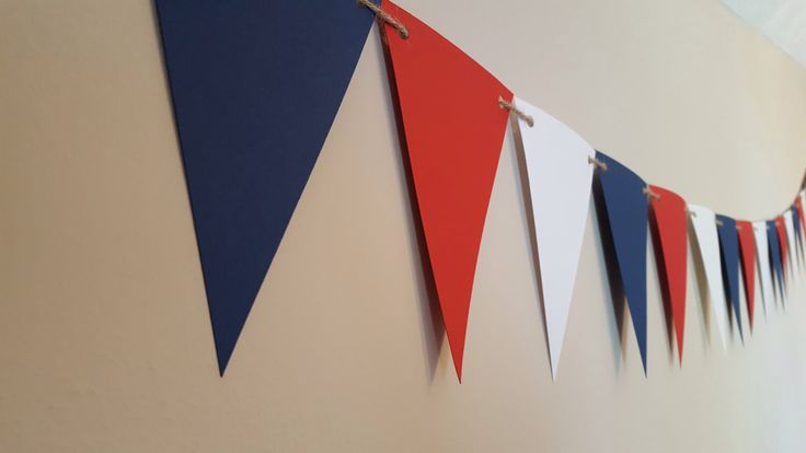 nautical birthday party decor * navy blue red and white banner * photo prop * nautical party * nautical nursery * nautical baby shower by declanandsmith on Etsy https://www.etsy.com/listing/466644145/nautical-birthday-party-decor-navy-blue