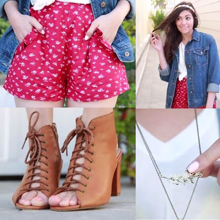 20 best bethany mota images on pinterest bethany mota 5 outfit ideas for this easter by bethany mota watch the video negle Image collections