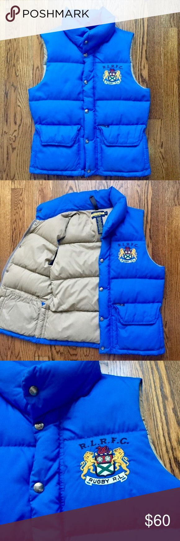 RUGBY Ralph Lauren Vest Excellent condition 🌺🌲🌺🌲🌺could be a great gift🌺let me know if you have any questions 🎊 Rugby Ralph Lauren Jackets & Coats Vests