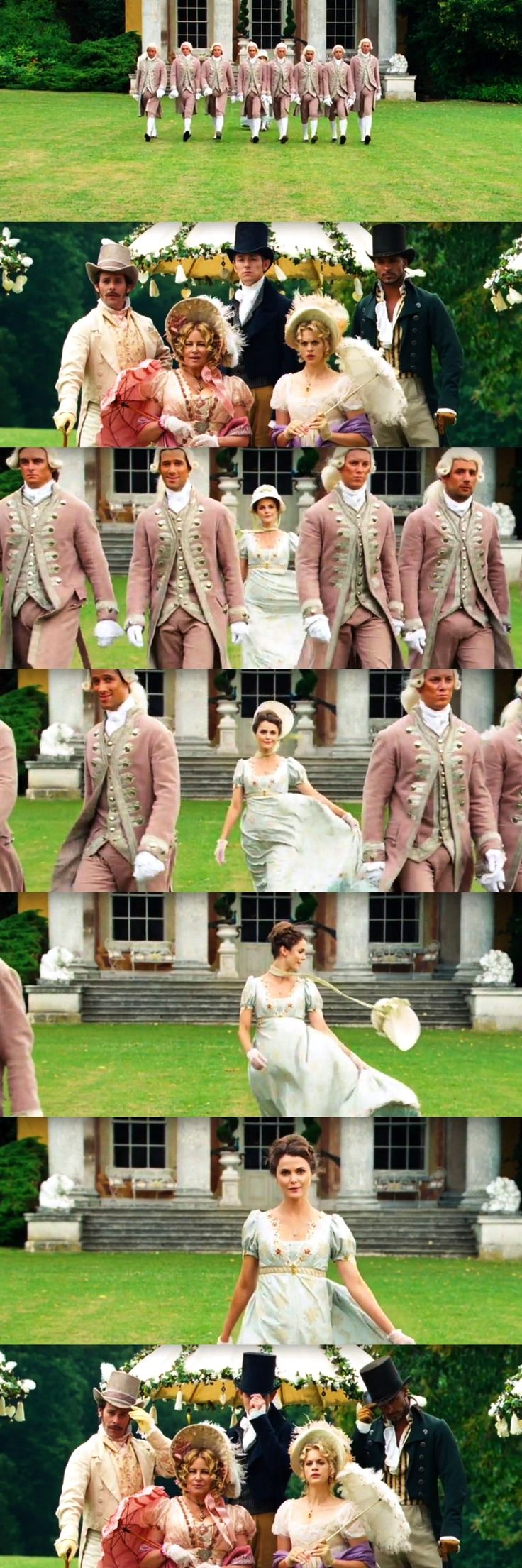 That one montage in Austenland when when gets hot, this is real goals.