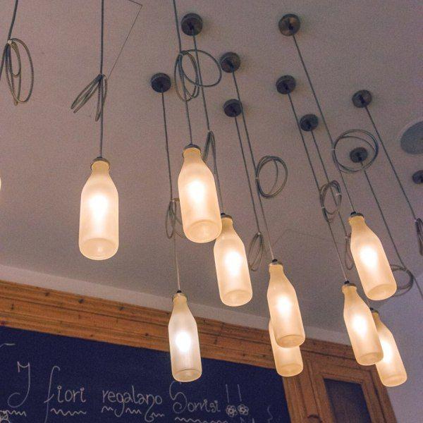 la.vi.it luminaire bouteilles
