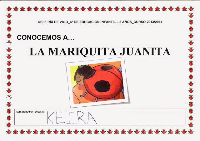 "Traballo 5 anos_""La mariquita Juanita"" - CEIP. Ría de Vigo Educación Infantil - Álbumes web de Picasa"