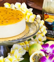 Hawaiian Cheesecake: find them at the farmers market on Wednesdays, Thursdays or Saturdays. THE BEST New York Style cheesecake, topped with Big Island strawberries and local Lilikoi (passion fruit), made by David, a native New Yorker. Take my word for it. Order a whole cheesecake and eat it during your stay. Or at least pick up a slice each of lilikoi and strawberry. The best cheesecake in Oahu if not the islands. Perhaps anywhere. ;)