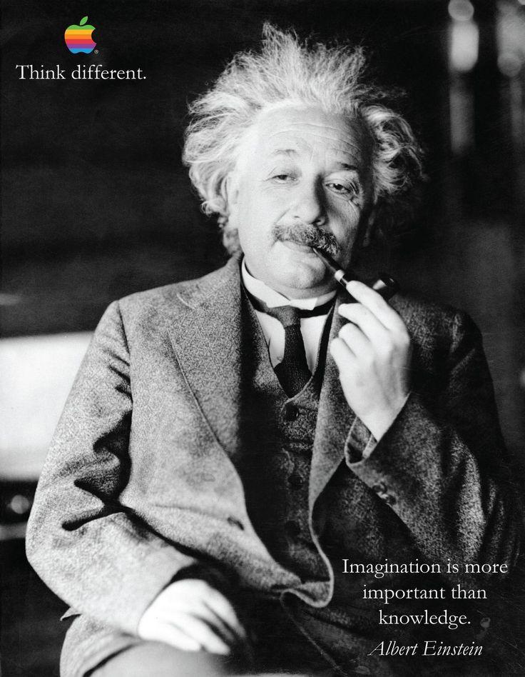 Albert Einstein di Apple iPhone 6 Think Different motivazione Inspiration poster | eBay