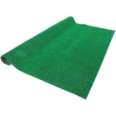 Green 6 ft. x 8 ft. Artificial Grass Rug-T85-9000-6X8-BM - The Home Depot