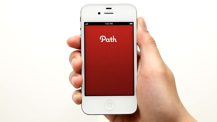 Path is a Social Networking App with limited friends or relatives (50) and has a most intuitive user interface