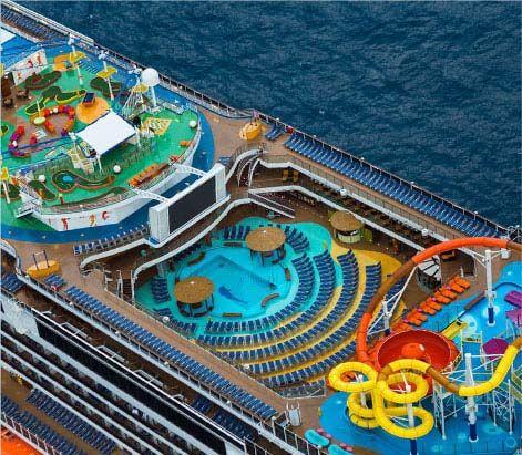 Cruise Activities - Carnival Breeze WaterWorks