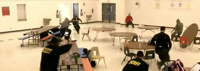 Arizona sheriff Joe Arpaio deploys posse of armed volunteers, some with charges of assault, sex crimes against children, and drug convictions, to guard Phoenix area schools, after being trained to shoot by actor Steven Seagal. ~ This is actually happening in our country. How messed up is this?!
