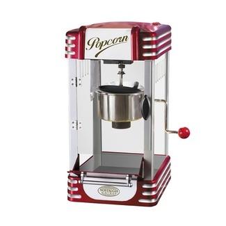 J'ai une machine de ce type qu'on pourra utiliser pour la déco ou pour faire du vrai pop corn !