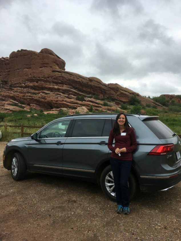 2018 VW Tiguan Review- new compact SUV with third row seating. I attened the Volkswagen #VWTiguan Media Drive Event.