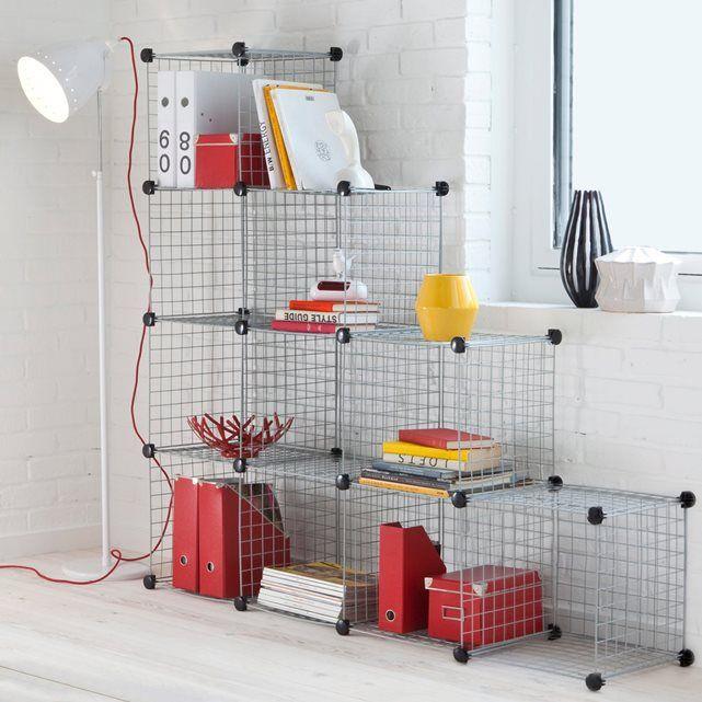 Les cubes de rangement modulables Modulo s'assemblent sans clou ni vis en fonction de l'espace, on peut les utiliser seuls, comme une étagère ou en aménagement de placard !