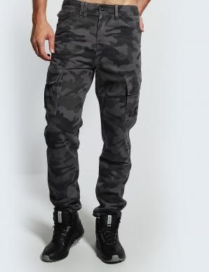 Kalhoty pánské maskáčové RASER