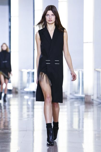 Anthony Vaccarello Ready To Wear Fall Winter 2015 Paris