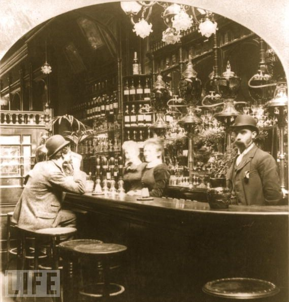 London Pub in 1893