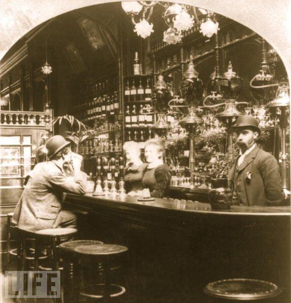 London Pub in 1893