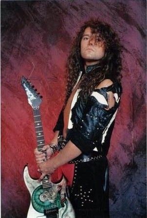 Pete Blakk and his B.C. Rich