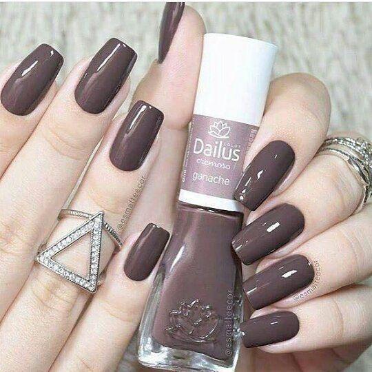 Esmalte Ganache @dailuscolor, compre o seu na ShopBela: www.shopbela.com.br