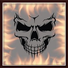 SKULL-325-airbrush-stencil-template-motorcycle-chopper-paint-NEW-DESIGN