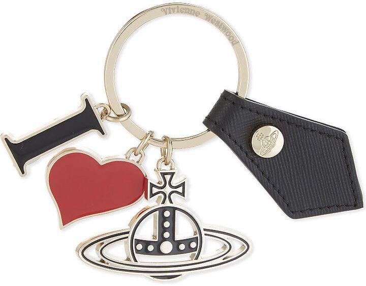 Vivienne Westwood Gadget I Love Orb keyring