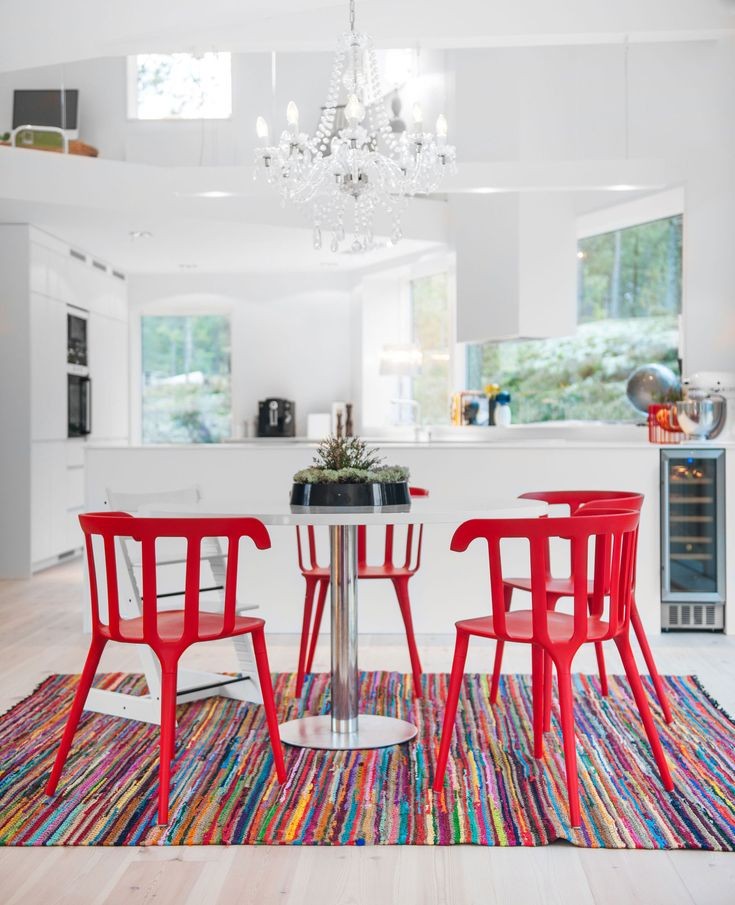 Red Dining Room Color Ideas 40 best mums room images on pinterest | red chairs, architecture