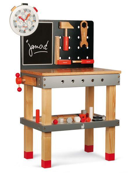 #limetreekids DIY Work Bench & Magnetic Tools