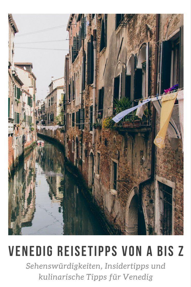 Venedig Reisetipps von A bis Z