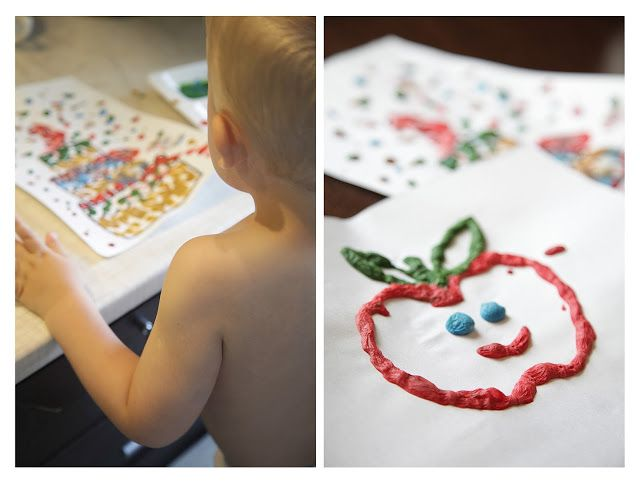 Toys+things: Объемная краска