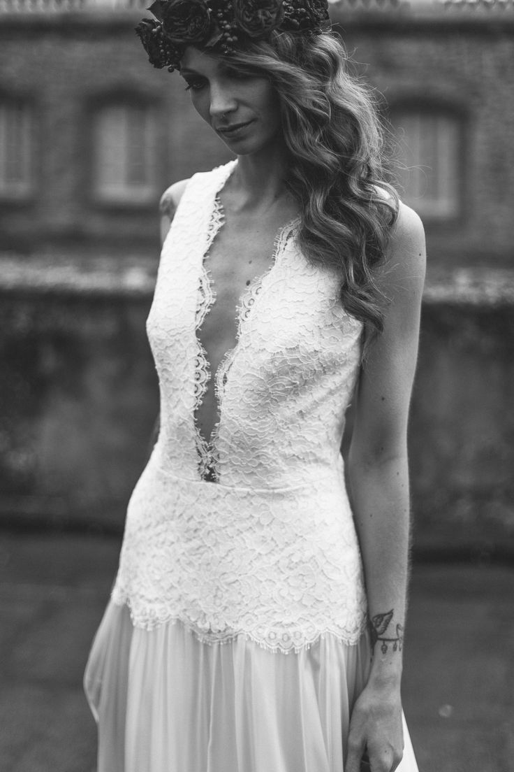 """Robe de mariée sur-mesure Manon GONTERO couturier-créateur collection 2015 """"Noce de lilas"""""""