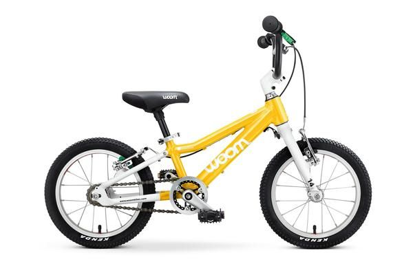 "WOOM 2 | Bicicleta copii 14"" | 3-5 ani | 95-110 cm | 5.4kg  #Kidbike #Kids ##bicycle #WoomBikes #copii #parinti #bicicleta #BicicletaCopii"