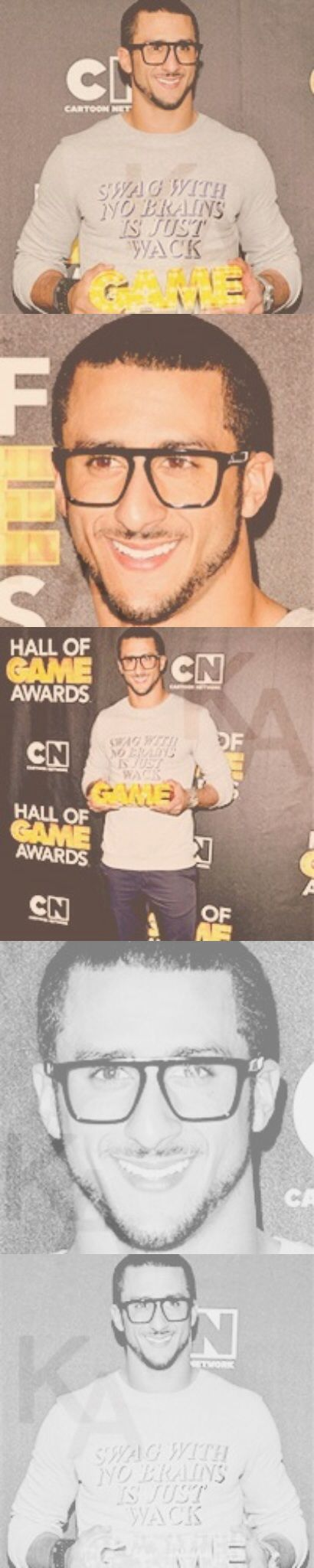 The 2389 best colin kaepernick images on pinterest colin colin kaepernick looking spiffy as alwayslove the nerdy glasses his thermal voltagebd Images