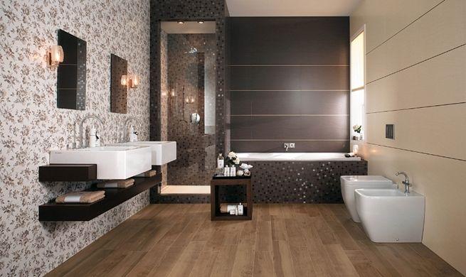 Azulejos reflectantes para el cuarto de baño