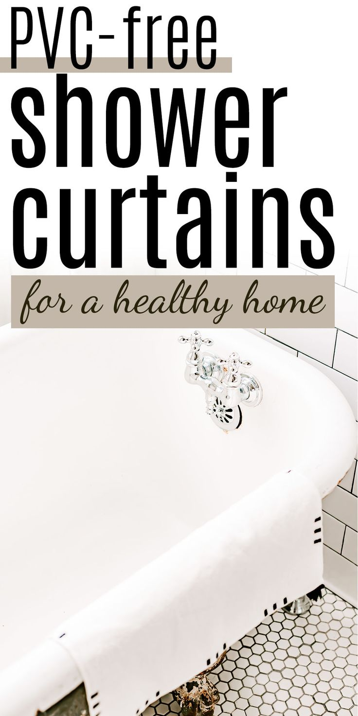 Why You Need A Nontoxic Shower Curtain The Best Pvc Free Shower