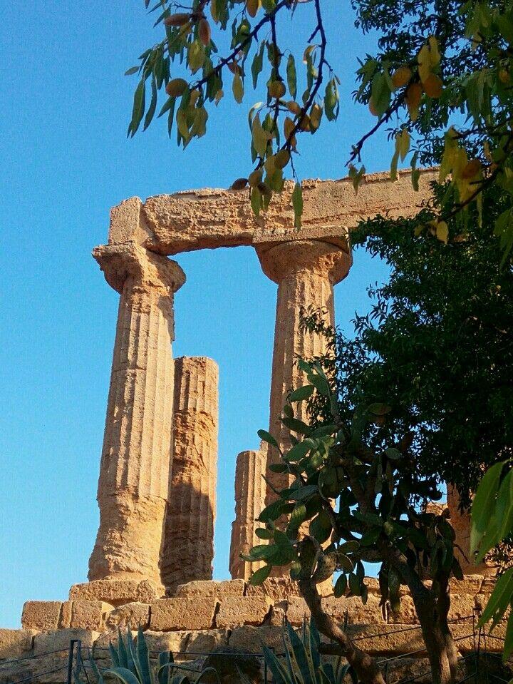Valle dei Templi in Agrigento, Sicilia