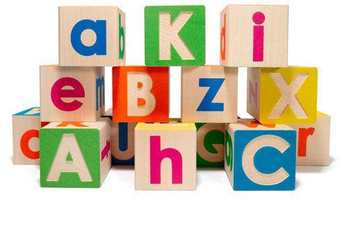 Uppercase/Lowercase ABC Blocks