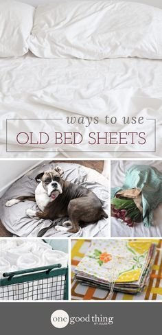 If you have a collection of old bed sheets taking up space in your linen closet, you're in luck! Check out these 17 ways you can use those old bed sheets.