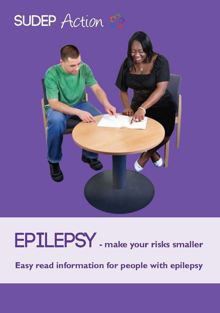 Epilepsy risk leaflets for people with learning disabilities