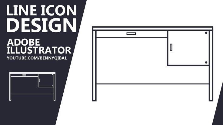 Illustrator Tutorial Trendy Line Icon Design