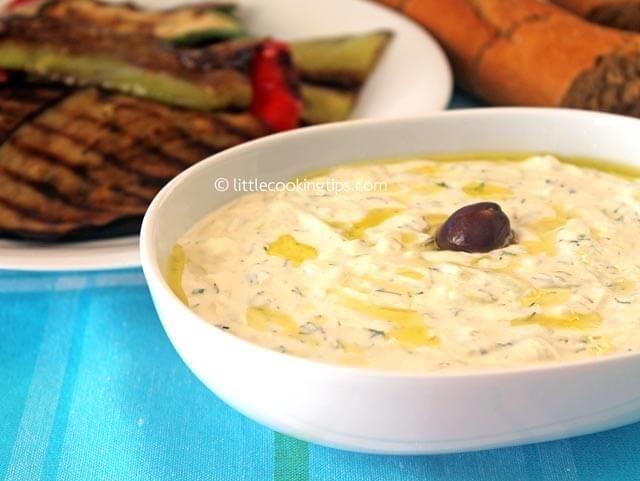 The authentic Tzatziki recipe