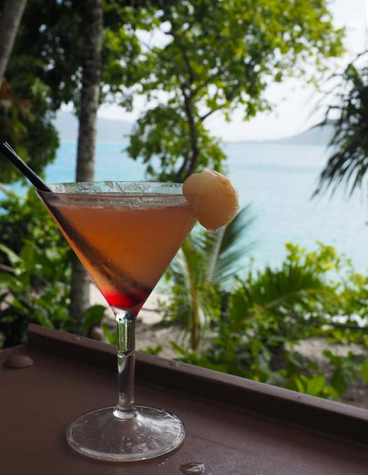 The view from Foxy's Bar on Fitzroy Island  in Queensland Australia   Inspiring travel photos of Australia   See Something New