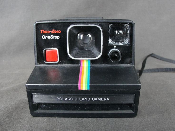 Vintage Polaroid SX-70 Time Zero Onestep Instant Land Camera Tested #Polaroid