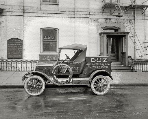 Washington d c circa 1925 ford motor co duz for James motor company used cars