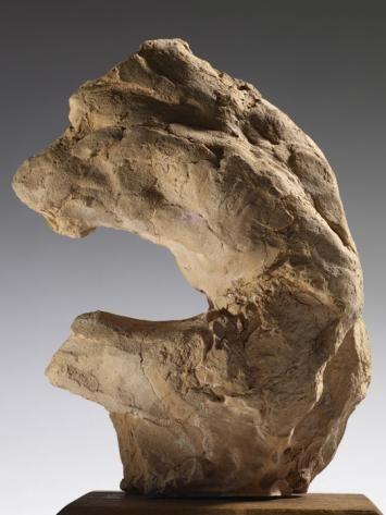 Auguste Rodin (1840 -1917) Torse masculin accroupi  1890  Terre cuite  H. 15, 1 cm ; L. 11,7 cm ; P. 7,8 cm