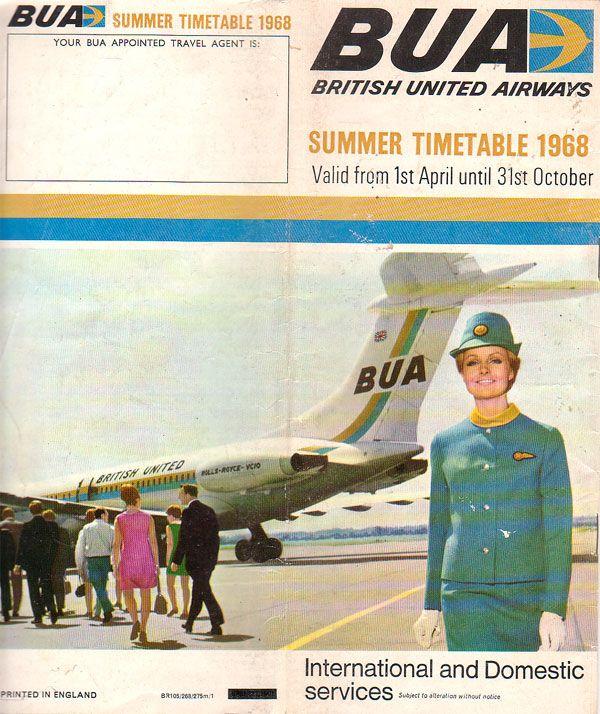British United Airways Timetable