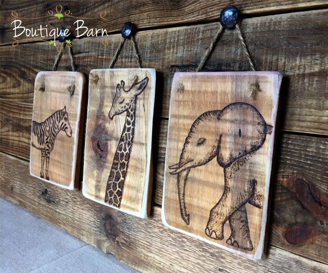Safari Room Decor/Safari Home Decor/Safari Nursery Decor/Giraffe Nursery/Elephant Nursery/Zebra Nursery/Zebra Wall Decor/Rustic Wooden Sign by BoutiqueBarn on Etsy https://www.etsy.com/listing/271387939/safari-room-decorsafari-home-decorsafari